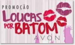 Promoção Loucas por Batom AVON