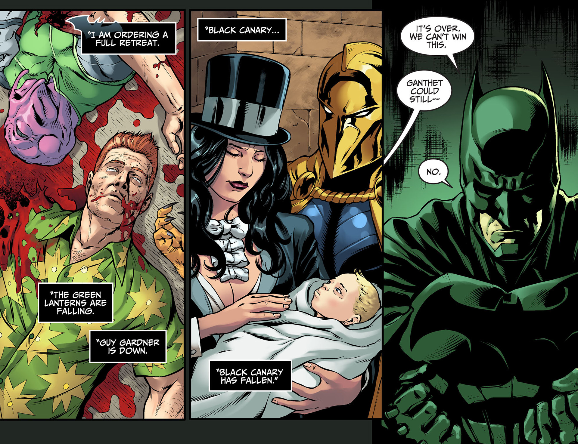 Injustice: Gods Among Us: Year Two Issue #24 #25 - English 4