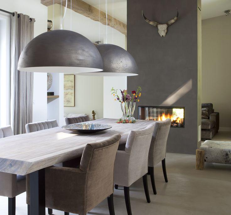 Moois en liefs woon inspiratie - Moderne woonkamer eetkamer ...