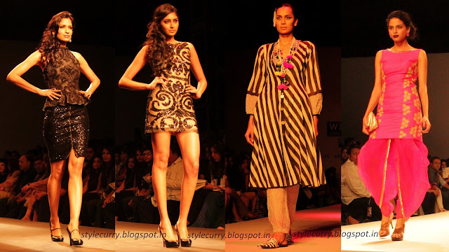 Wills Lifestyle India Fashion Week Autumn/Winter 2013- Siddartha Tytler, Anupamaa, Nikasha
