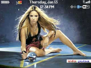 Tema Shakira - BlackBerry Theme