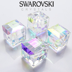 Aurora Borealis Swarovski Crystals | Genuine Crystals by Daniel Swarovski | Crystal Allure Beaded Jewelry Blog