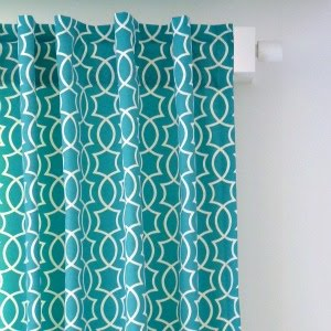 Easy DIY Back Tab Curtains