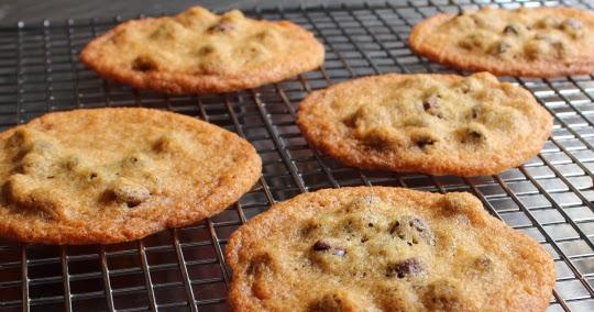 Food Wishes Crispy Chocolate Chip Cookies