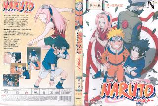 naruto dvd covers