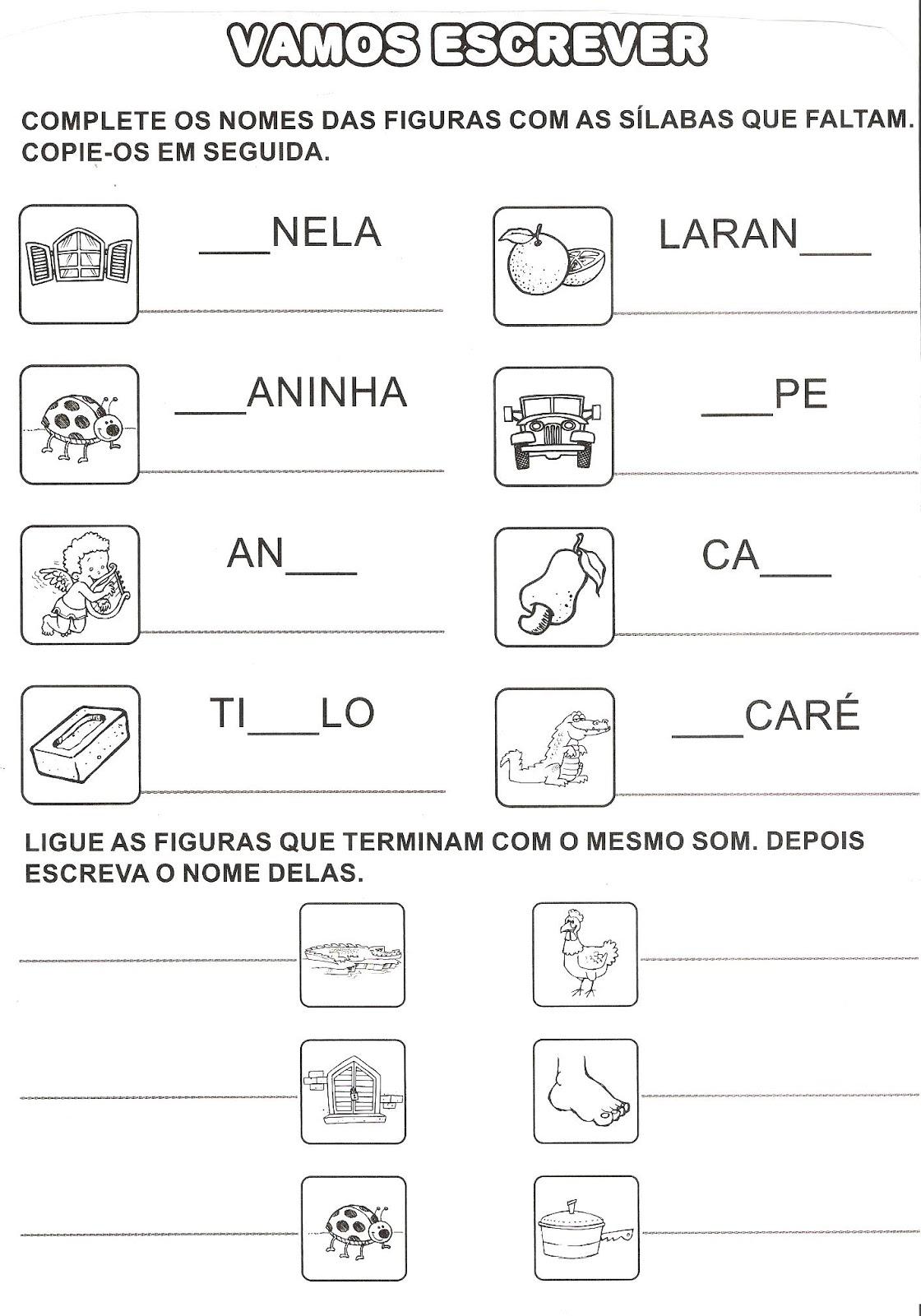 Conhecido Alegria de Aprender na Educação Infantil: ATIVIDADES COM LETRA J TH04