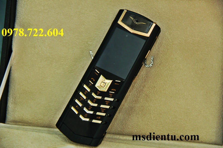 Vertu Signature S Design Black copy giá rẻ