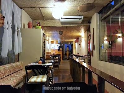 Recôncavo Bar & Cozinha Criativa: Ambiente (térreo)