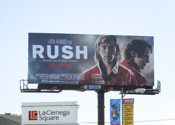 Rush film billboard