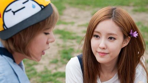 Hyomin T-ARA & SNSD Sunny from Invincible Youth 2 Scene