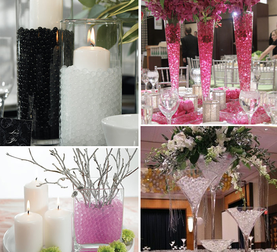 Unique Wedding Reception Centerpieces