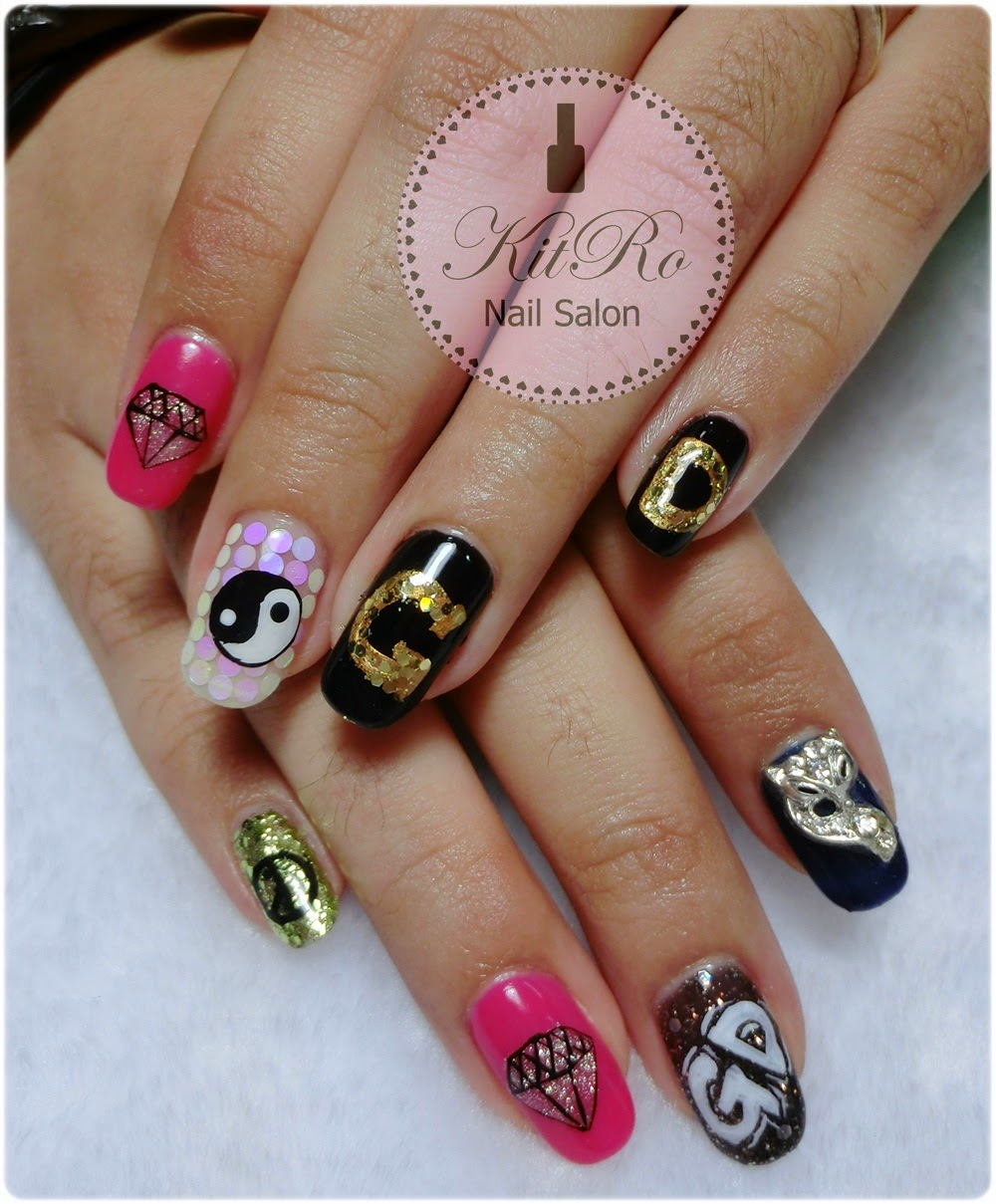Nail Art Ideas » G By G Nail Art - Pictures of Nail Art Design Ideas