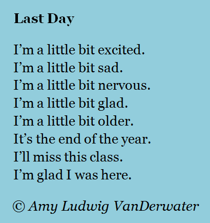 Image result for last day of school poem