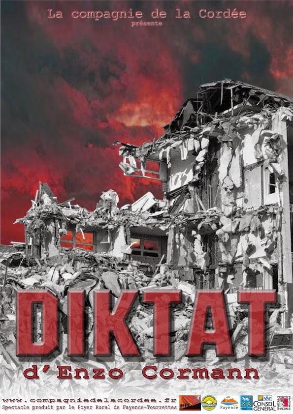 Un projet d'affiche pour Diktat