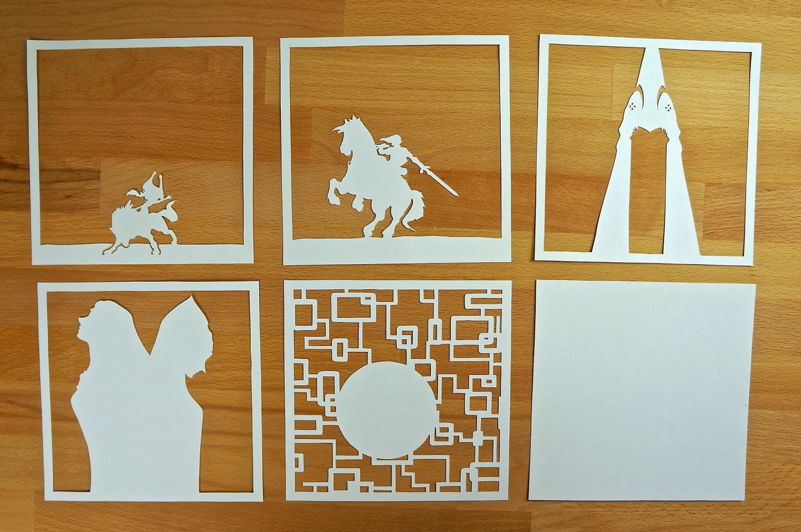 otaku crafts paper lightboxes zelda studio ghibli more. Black Bedroom Furniture Sets. Home Design Ideas
