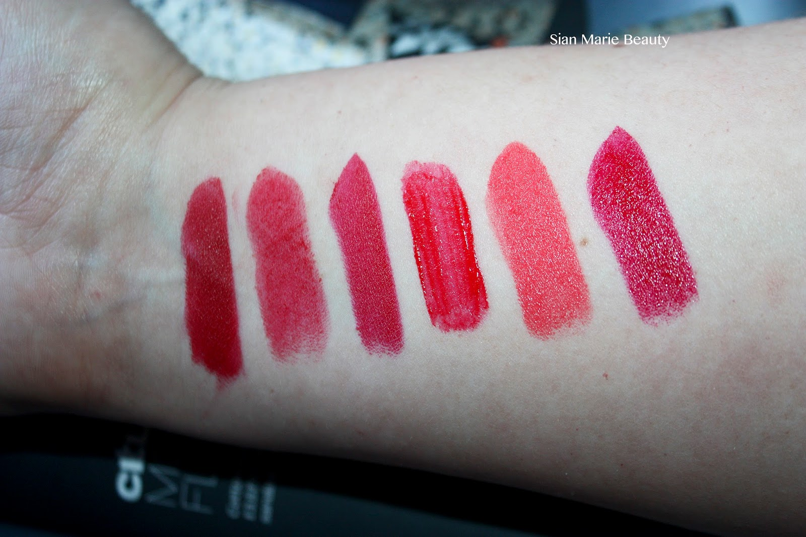 Favourite Red Lipsticks
