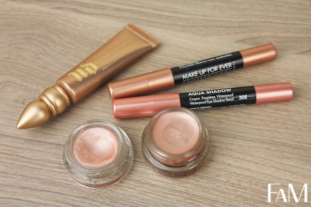 Pink champagne eye products