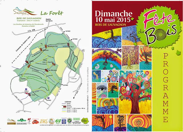 Fête du Bois 2015 à Sauvagnon