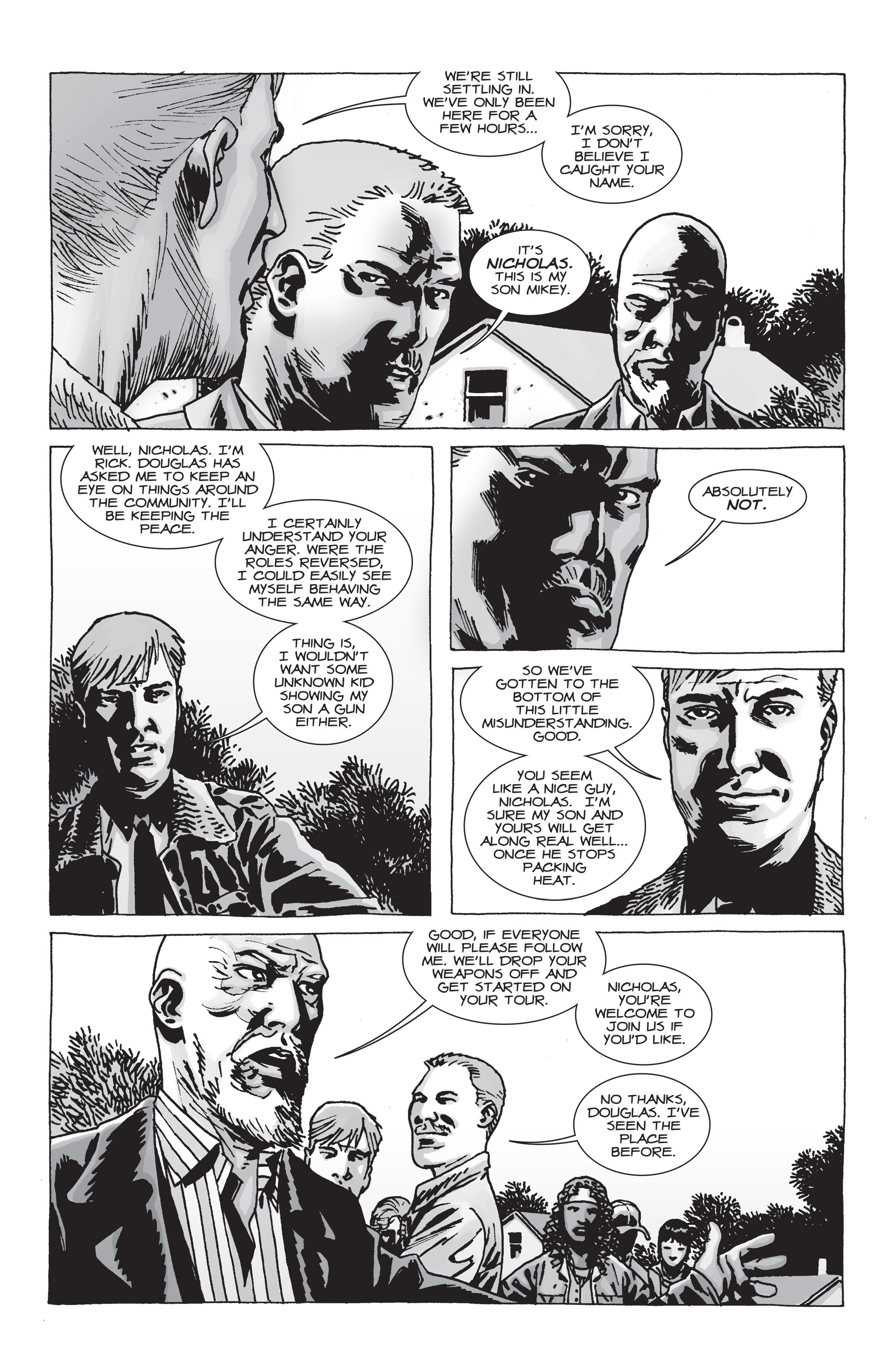 The Walking Dead Issue #71 Page 7