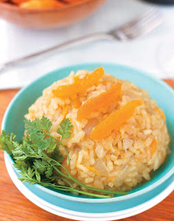 Apricot Risotto from Allyson Kramer