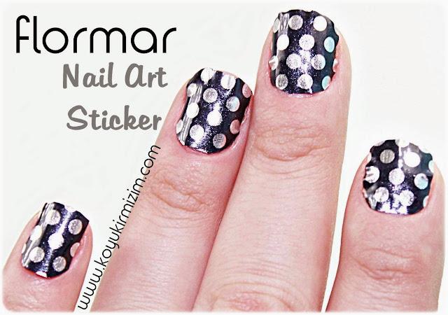 Flormar Nail Art Tırnak Yapıştırmaları