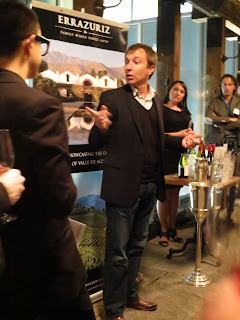 Francisco Baettig at Viña Errázuriz Tasting in Toronto