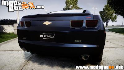 IV - Chevrolet Camaro SS [ELS] Unmarked interceptors