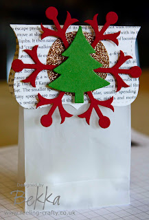 Adorable Christmas Table Treat Bags by Bekka www.feeling-crafty.co.uk