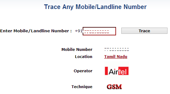 trace owner name of any mobile number in india
