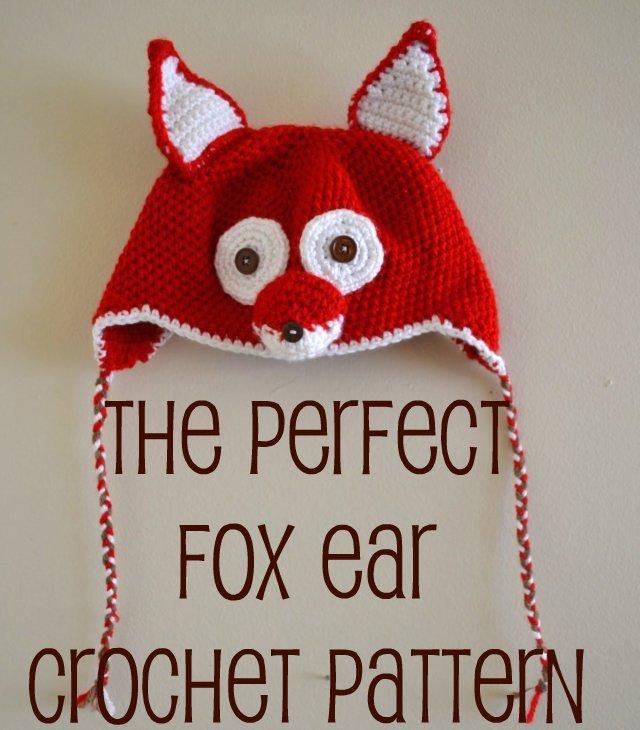 Free Pattern The Perfect Crocheted Fox Ears Heather Handmade