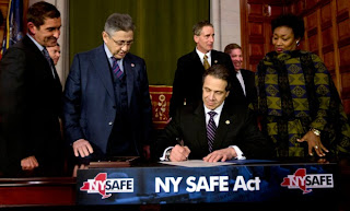 New York's Gov. Cuomo signs New York's Secure Ammunition and Firearms