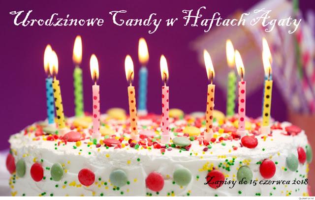 Candy urodzinowe Hafty Agaty