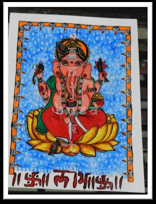 Shubh Labh, Ganesh painting