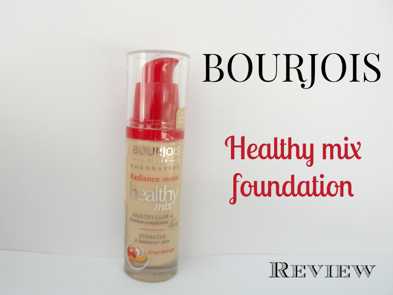 Bourjois Healthy Mix Foundation - Review
