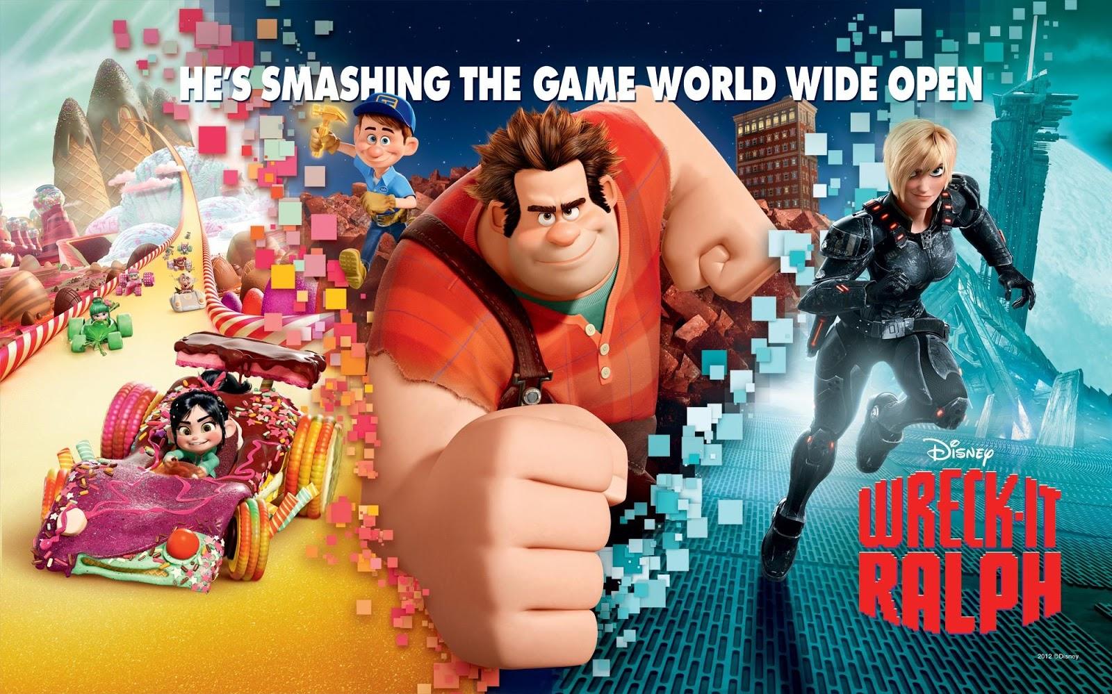 فيلم الأنيميشن الخرافى 2012 Wreck-It Ralph  مترجم