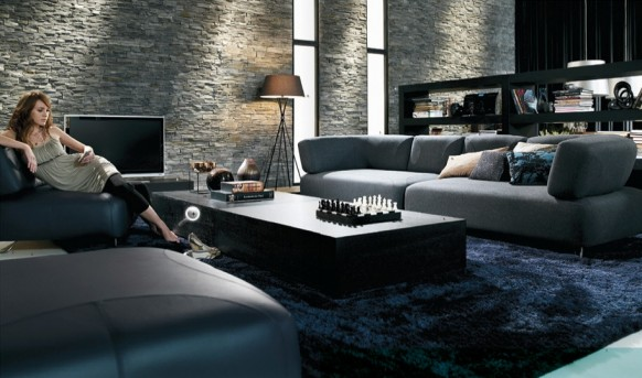 Contemporary Living Room Furniture | Interior Design Ideas, Modern ...