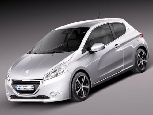 novo Peugeot 208 2014 frente