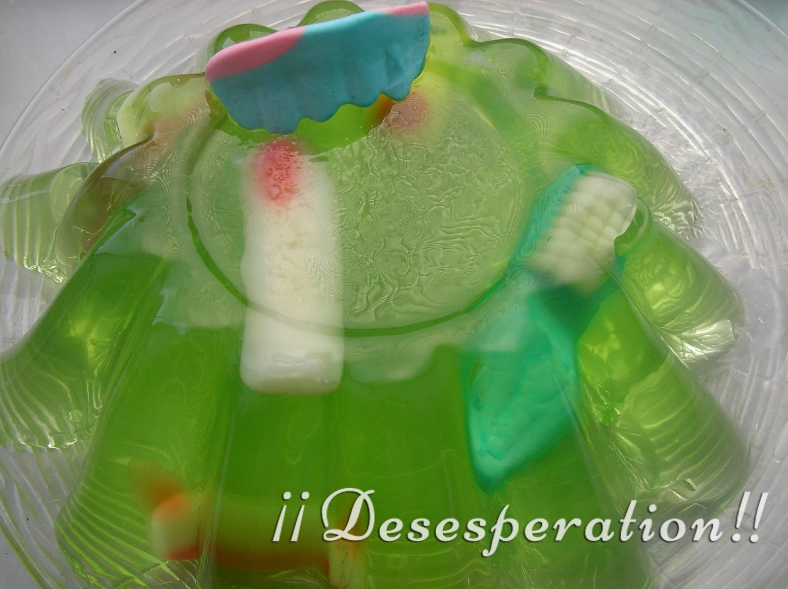 Desesperation!!: Ideas para Cena en Halloween - Gelatina con sorpresa