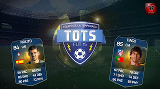 Híbrido Nolito TOTS Tiago TOTS FIFA 15 Ultimate Team, review Nolito TOTS Tiago TOTS FUT 15