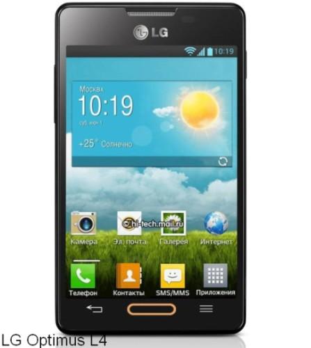 nuovo smartphone di fascia media bassa per Lg con sistema operativo Jelly Bean
