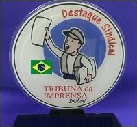 2°  PRÊMIO EM DEFESA DO MOVIMENTO SINDICAL E LIBERDADE DE IMPRENSA