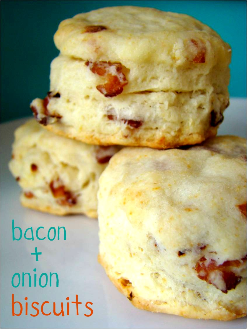 Biscuits au gras de bacon