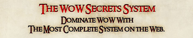 wow secrets, cheap wow gold, buy cheap wow gold