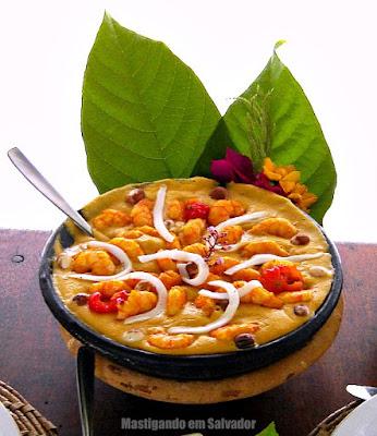 Restaurante Paraíso Tropical: Dandá de Camarão