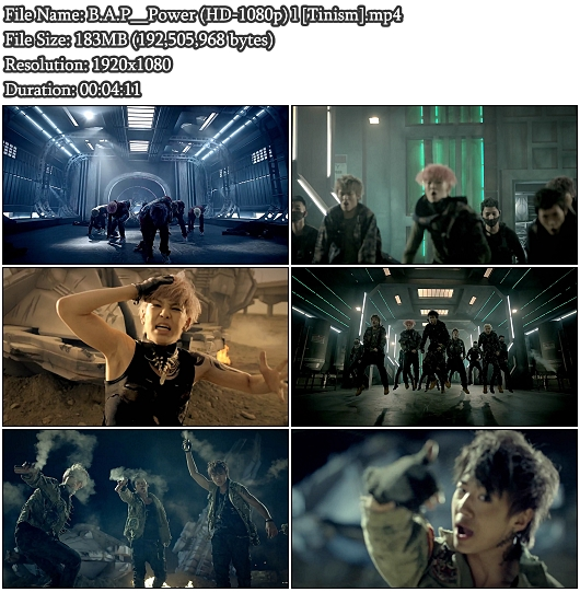 MV B.A.P (비에이피) - Power (Full HD 1080p)