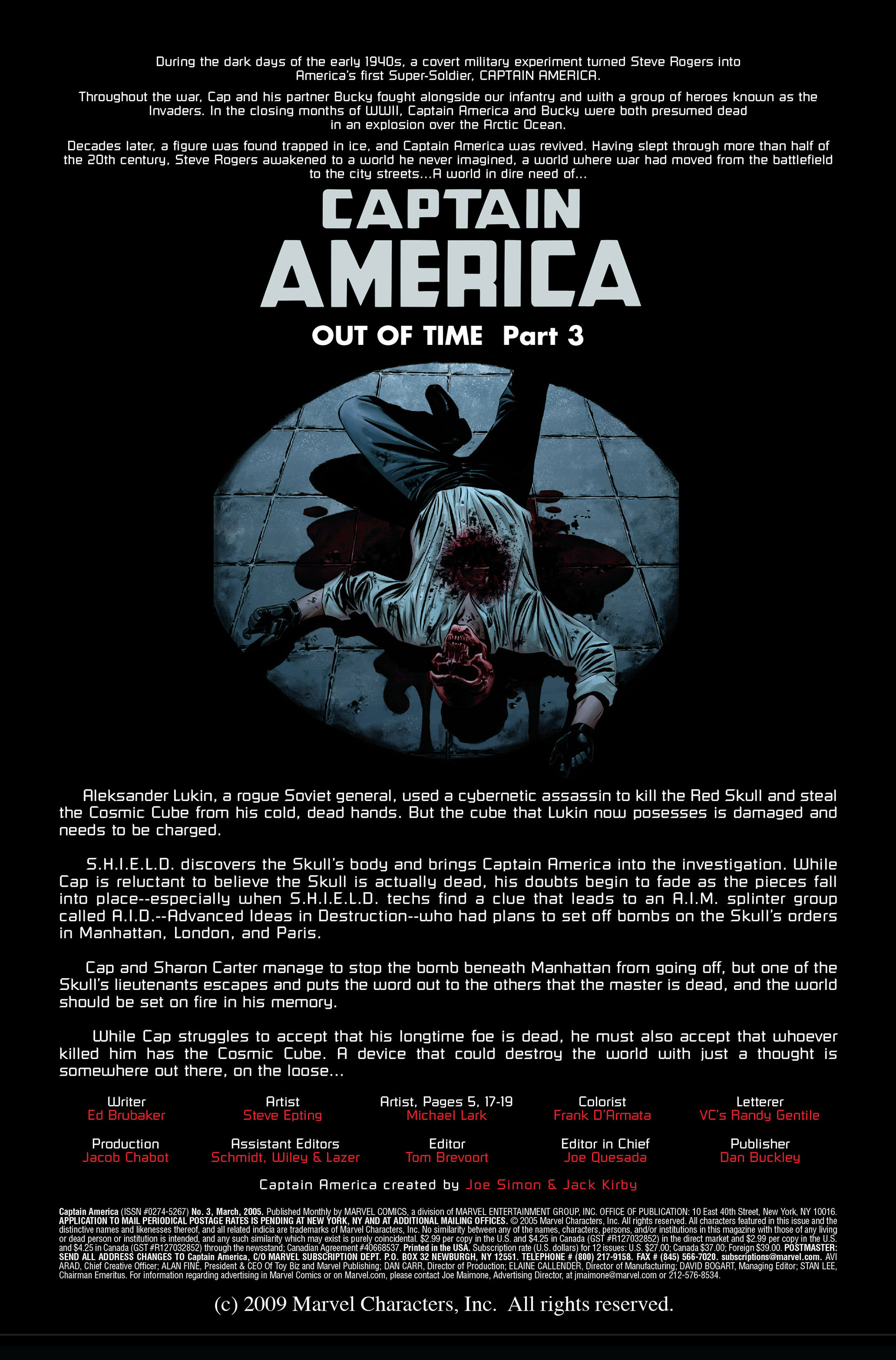 Captain America (2005) Issue #3 #3 - English 2