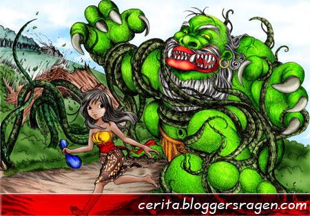 cerita timun mas dalam bahasa indonesia