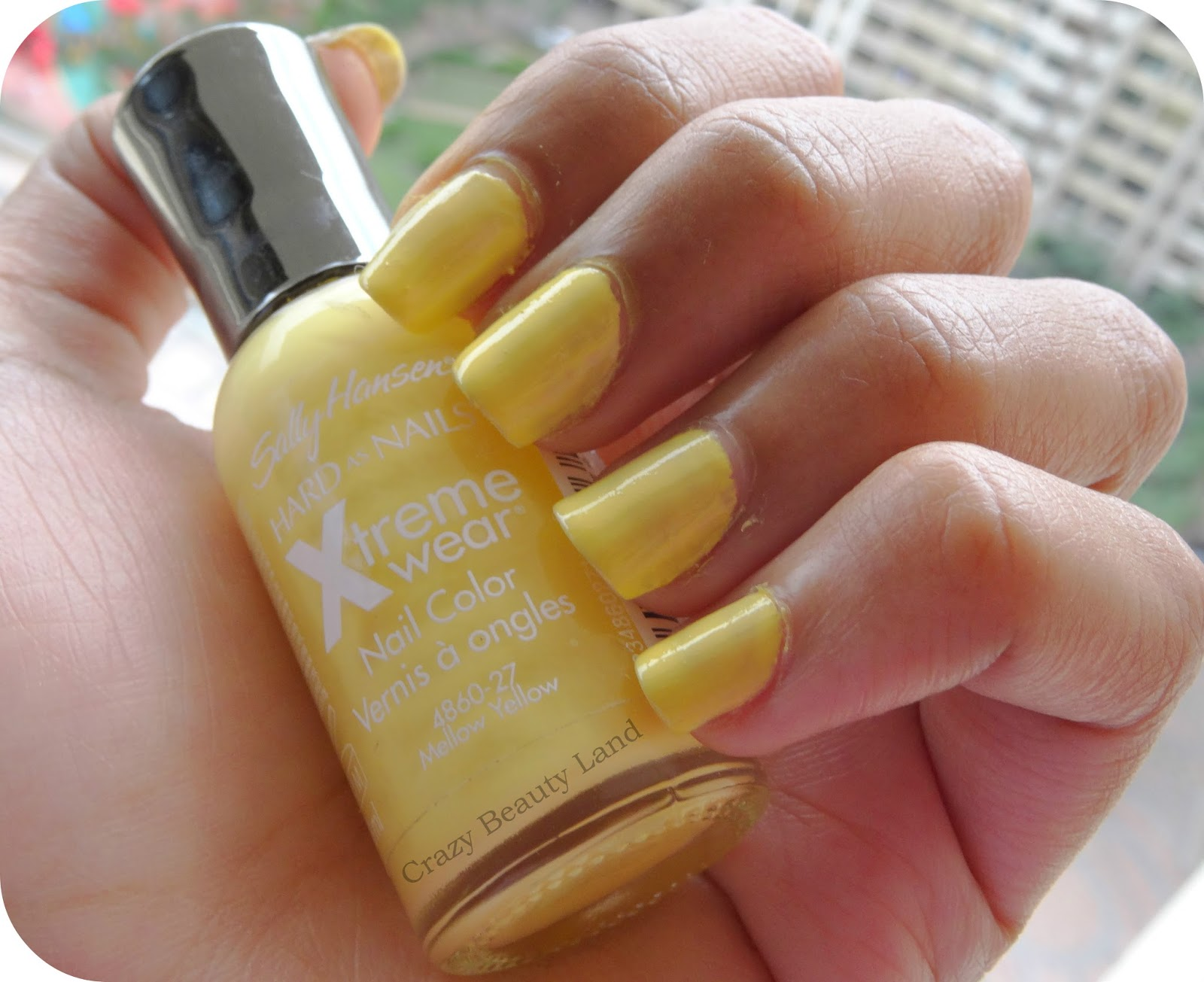 We All Need A Little Yellow Sometimes Sally Hansen Hard As Nails