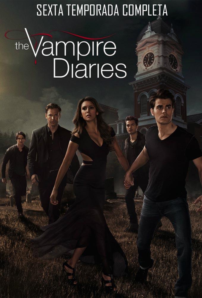 Diários de um Vampiro 6ª Temporada Torrent - BluRay 720p Dual Áudio