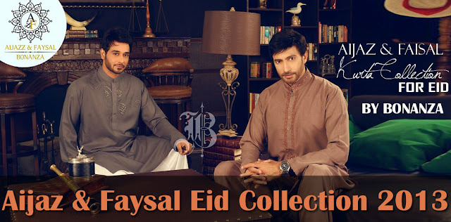 Aijaz and Faysal Eid Collection 2013 By Bonanza